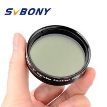 Svbony 1.25 cccpl filtro de polarização variável para astronomia monocular telescópio & ocular filtro excelente qualidade f9147a