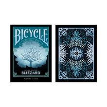 Bicycle Natural Disasters Snowstorm Playing Cards Collectable Poker USPCC Limited Edition Deck Magic Tricks Props