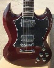 ENTREGA GRATUITA, guitarra eléctrica personalizzata di alta qualità, diapasón de palisandro guitarra roja de vino,Guitarra Eléctr