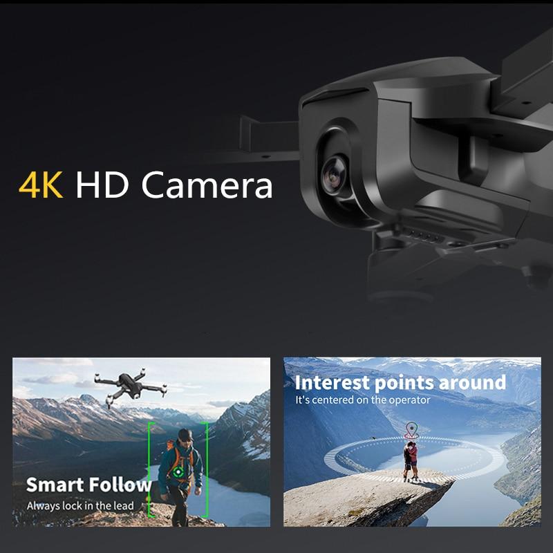 4K Drone Professional GPS Brushless Dron FPV Quadrocopter Auto Follow Me Drones with Camera HD VS FIMI SG907 K1 K20 F11 PRO E520