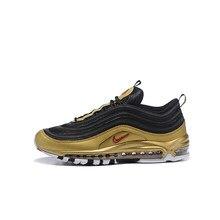Oferta especial oferta especial max 97s Golf efectivo de bola de plata cojín de los hombres y de las mujeres zapatos tamaño 36-45 comfetable zapatillas de deporte