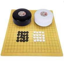 Weiqi – vieux jeu de société chinois, jeu de dames Go, en plastique, pièce d'échecs, de famille, adapté aux amoureux débutants