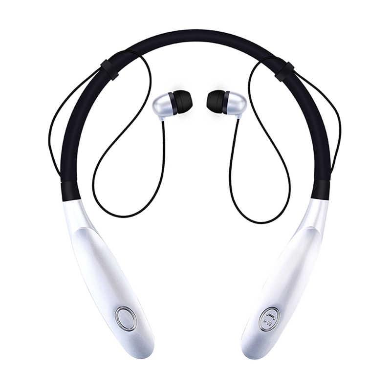 HBS900 słuchawki Bluetooth słuchawki bezprzewodowe sportowe do biegania bas dźwięk bezprzewodowy słuchawka z mikrofonem dla Xiaomi słuchawki douszne