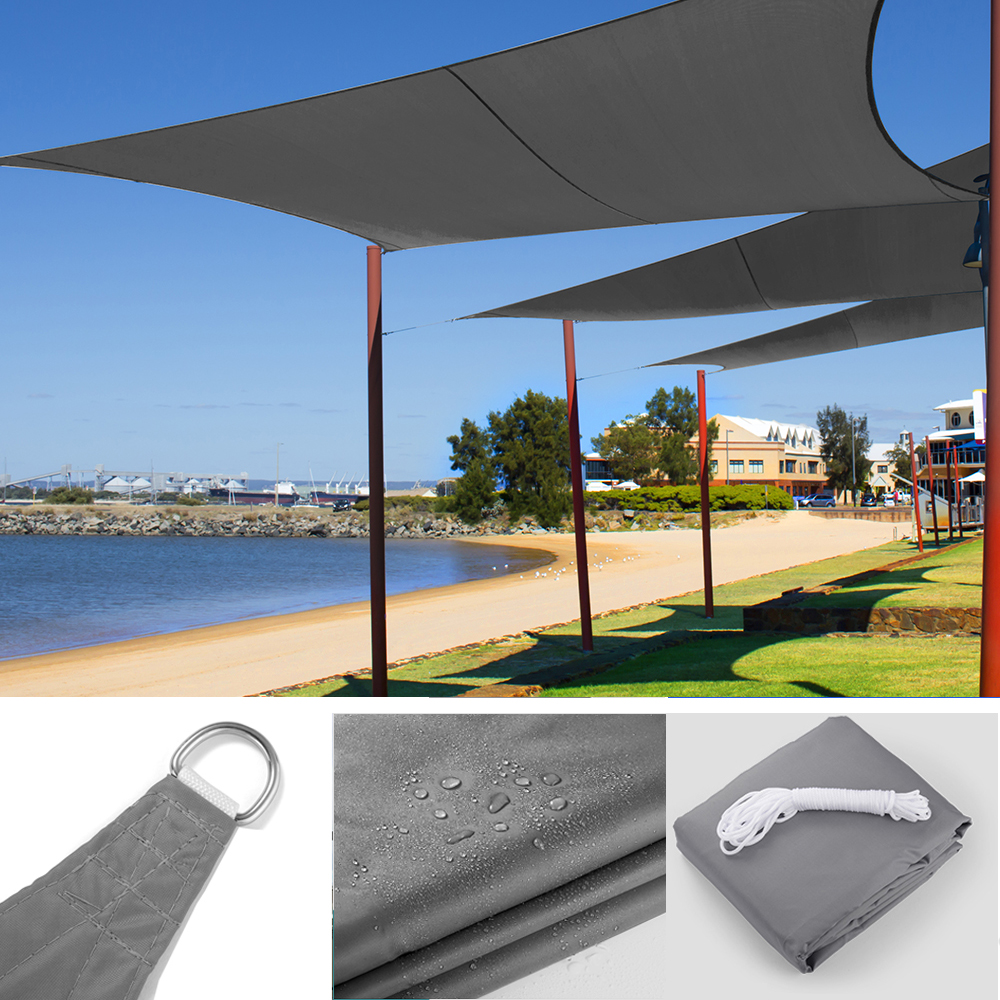 Waterproof Awning Sunshade Sun Shade Sail For Outdoor Garden Beach Camping Patio Pool Sun Canopy Tent Sun Shelter 4x3M
