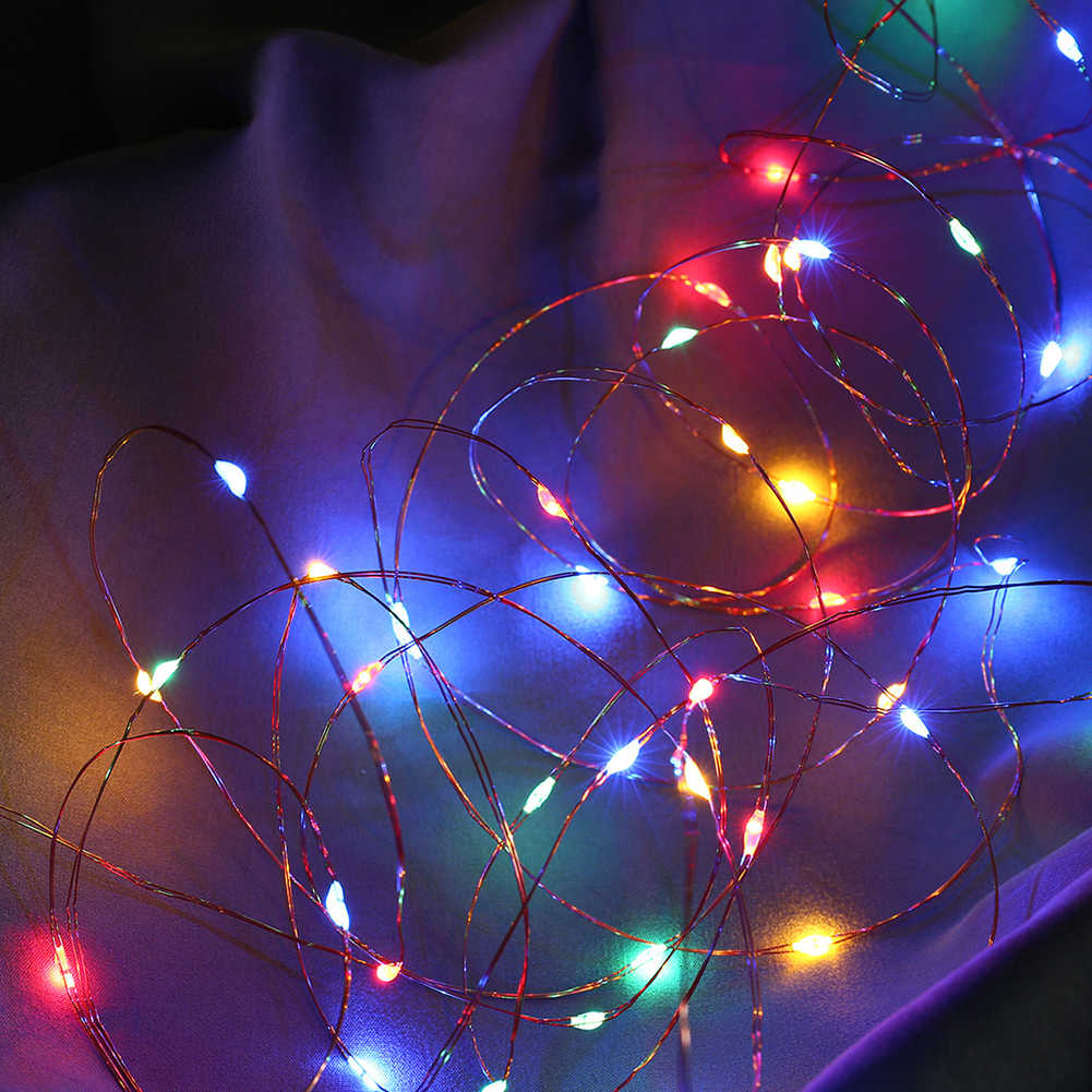 8 модель 5 м 50 светодиодный медный провод гирлянды с пультом дистанционного управления для рождественского фестиваля праздника свадьбы домашний декор зарядка через usb