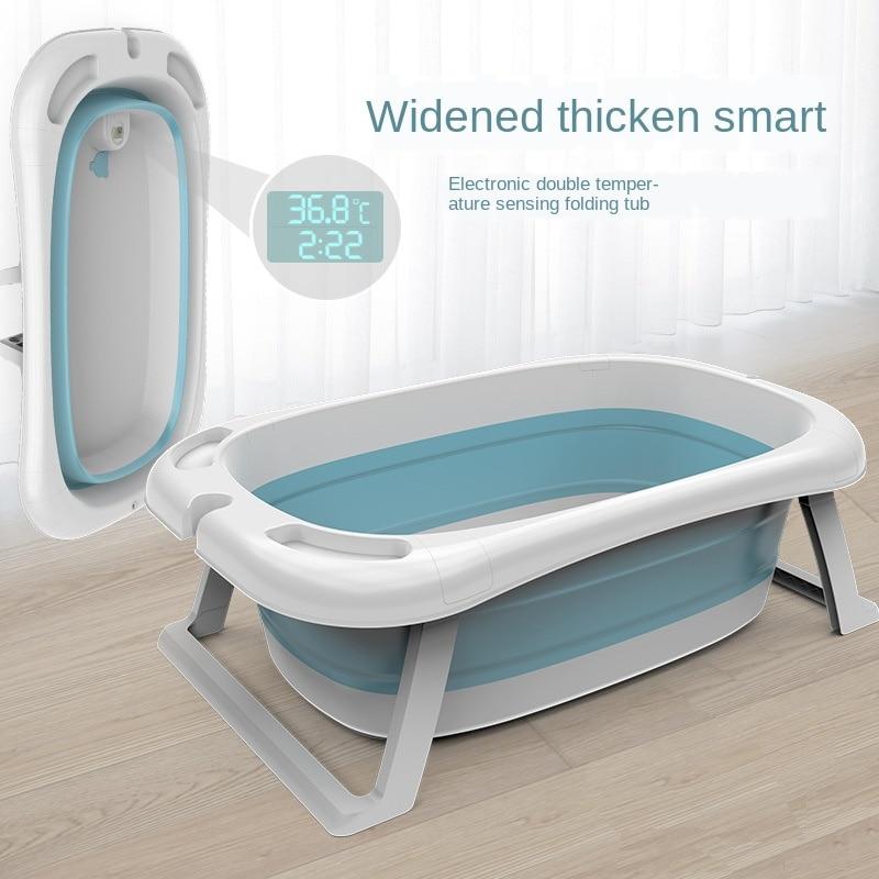 Children's Tub Universal Bath Bucket Oversized Extended Baby Newborn Supplies Baby Bath Tub Folding