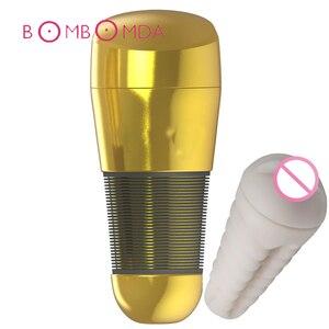 Image 1 - Las tiendas de sexo masturbador realista para hombres Anal vagina para sexo oral realista vagina de masturbación Copa adultos juguetes sexuales para hombres masturbación