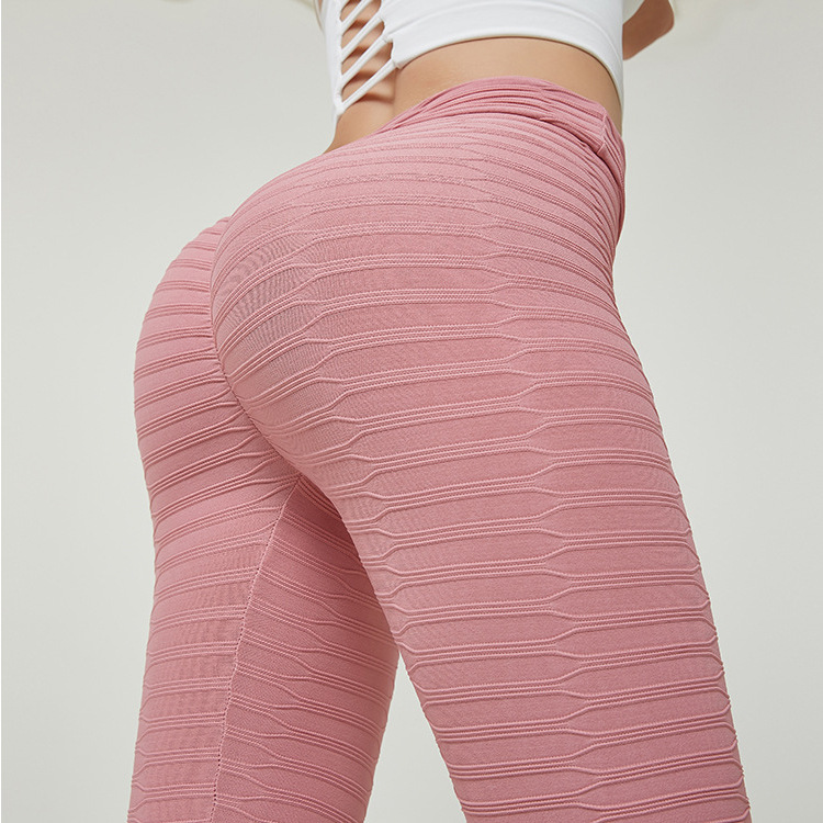 Multi-color! Europe And America Hot Selling Fashion Peach Hip Yoga Pants Sports Fitness High-waisted Buttocks Leggings Fitness P