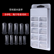 100PCS/1Box extended Quick Building Nail Tip Molds /Nail Dual Forms (100 Count)