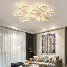 New Antlers Modern led ceiling lights for living room bed room light led techo ceiling lamp lamparas de techo light fixtures black white gray minimalism modern led ceiling lights for living room bed room lamparas de techo led ceiling lamp light fixtures