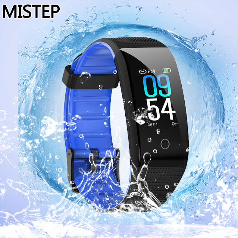 MISTEP CB501H Smart Bracelet Color Screen Smart band for woman and man Fitness Traker Bluetooth Sport IP68 Waterproof wristband image