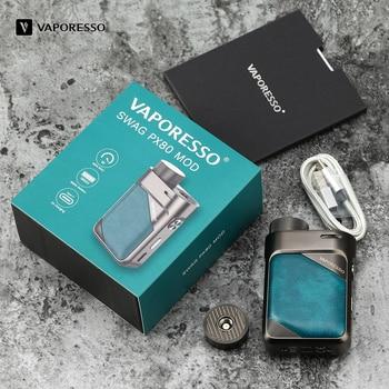 Vaporesso – Pod Mod Swag PX80, 80W, cartouche 4ml, 0,2 ohm, 0,3 ohm, GTX Mesh Coil, Cigarette électronique