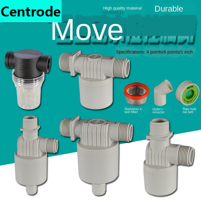 1/2IN 3/4IN 1 Inch Automatic Water Level Controller Float Ball Valve Solar Water Tank Water Tower Pool Water Inlet Switch Valve