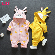 Baby Clothes Autumn Baby Girls Romper Ou