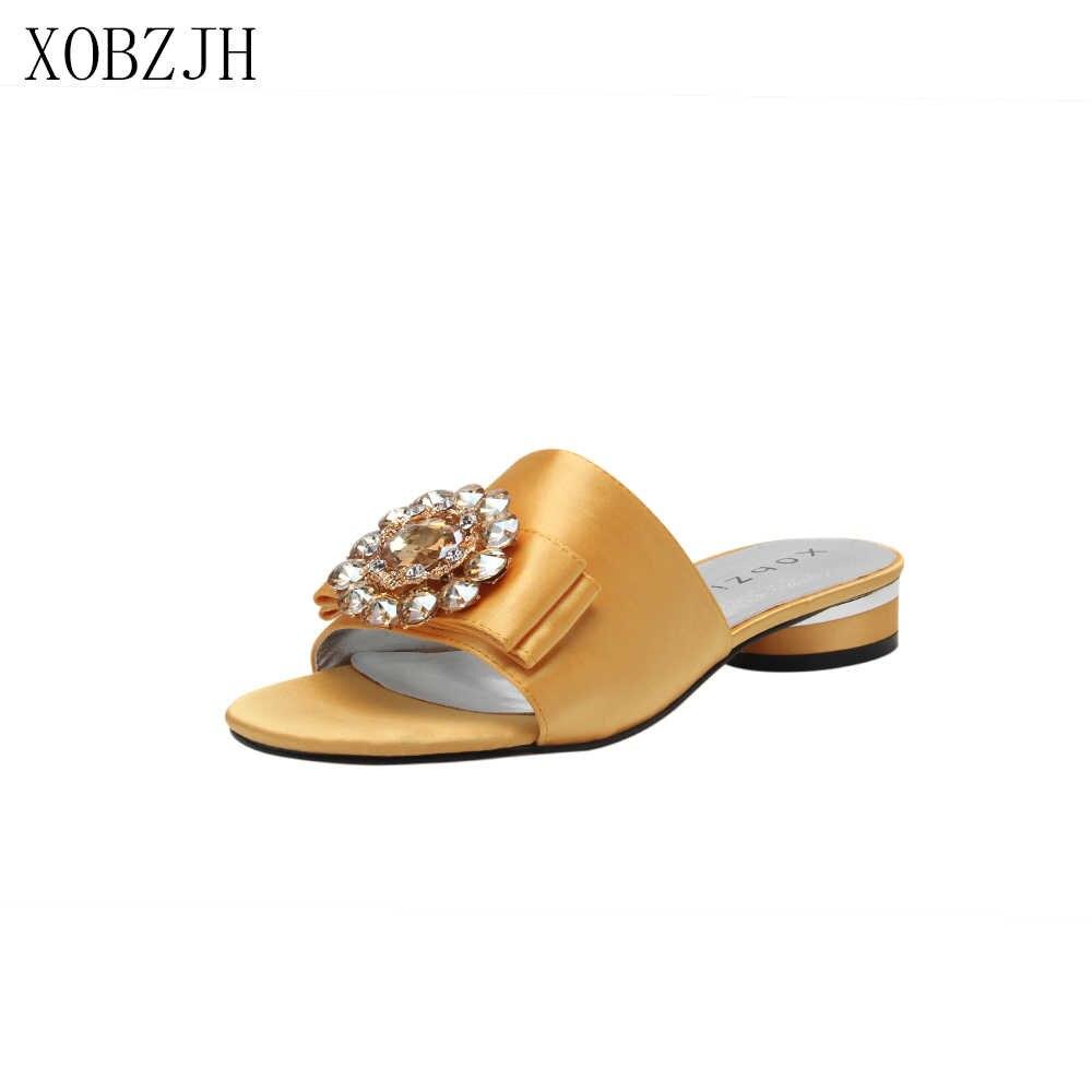 Sandalias planas de lujo zapatos de mujer de verano 2019 de marca de diseñador G sandalias negras de Mujer Sandalias de cuero genuino zapatos de mujer