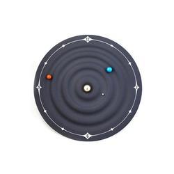 Nowość specjalne gumowe powlekane ukryte magnesy silnikowe Galaxy magnetyczny zegar Galaxy magnetyczny zegar ścienny