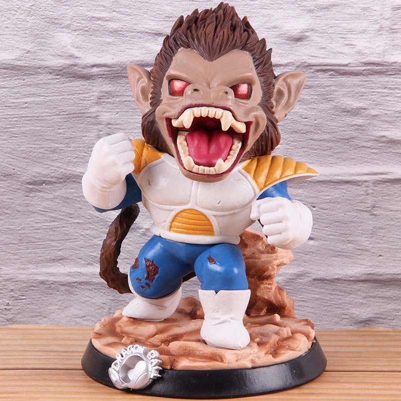 Image 2 - Vegeta Dragon Ball Z PVC Collectible Action Figure Dragonball Model Toy Great Ape Anime GK Statue 18cmAction & Toy Figures   -