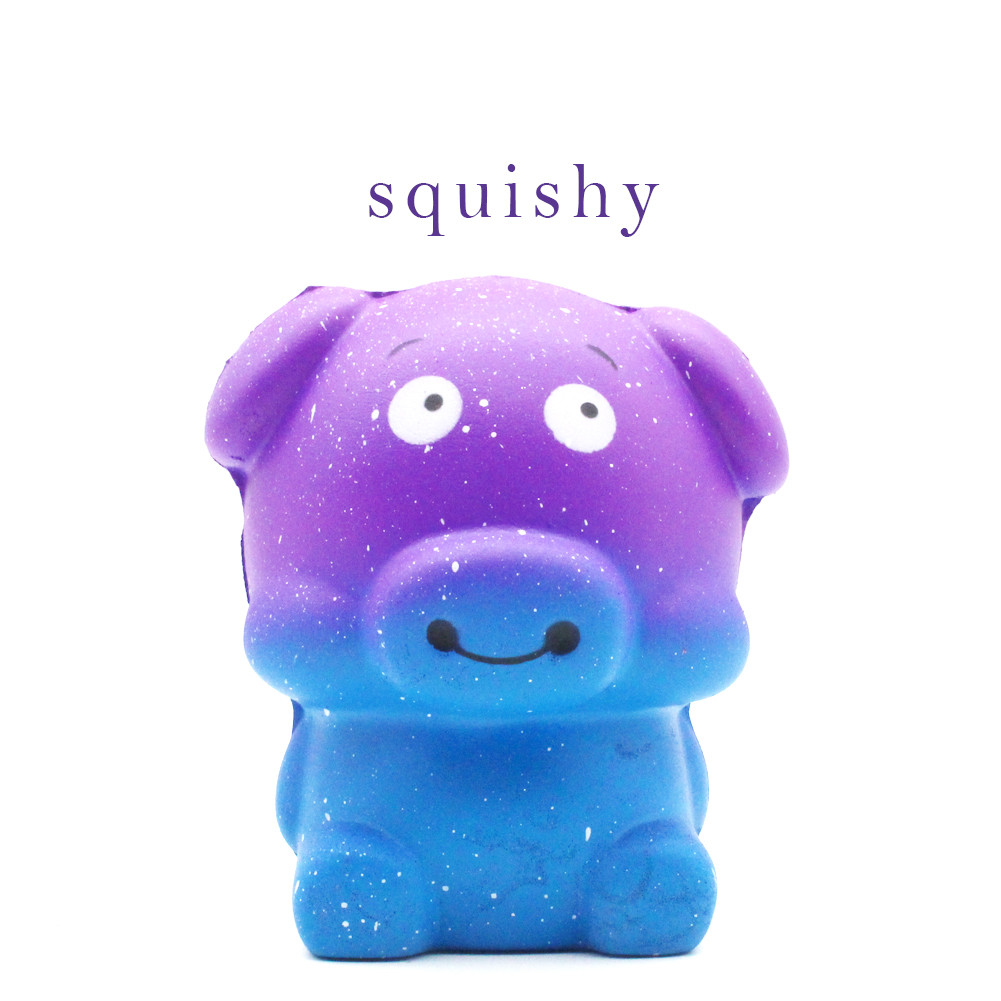 New Mini Adorable Pig Cartoon Scented Squishy Slow Rising Collection Squeeze Cure Stress Reliever Antistress Kids Toy L0116