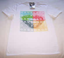 Lady Gaga Haus Of Mens White T Shirt Size XL New Short Sleeve T-Shirt Funny Print top tee