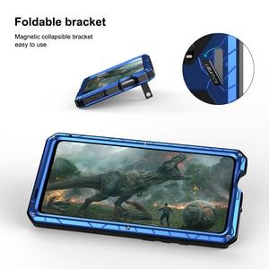 Image 5 - ل Xiaomi K20 برو جراب هاتف معدن الألمنيوم الصلب الثقيلة غطاء للحماية ل Xiaomi K20 برو مع الزجاج هدية