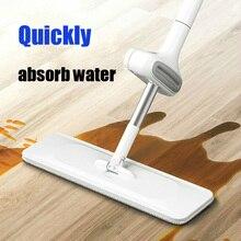 Xiaomi-fregonas para limpieza de suelos, herramienta de ayuda para el hogar, con cabezal de microfibra