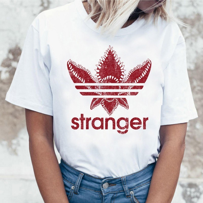 Stranger Things T Shirt Eleven Women Casual Top Tee Shirts Tshirt T-shirt Female Femme Clothing Harajuku Funny Movie Shirt