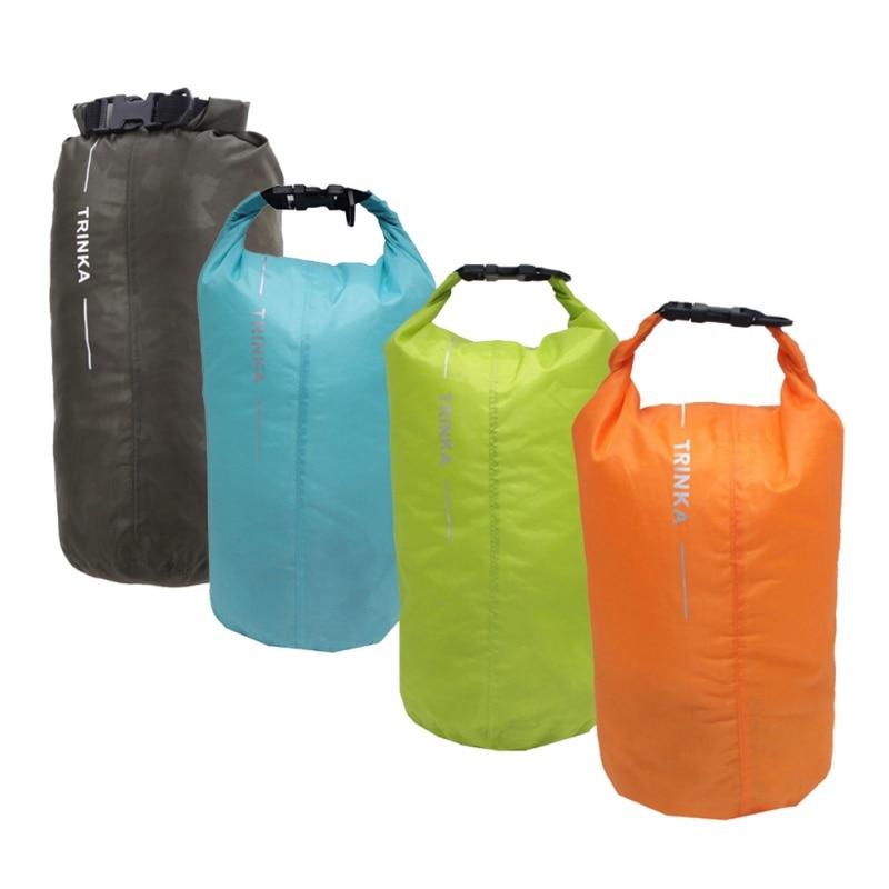8L Swimming Bag Portable Waterproof Dry Bag Sack Storage Pouch Camping Hiking Trekking Boating Bag