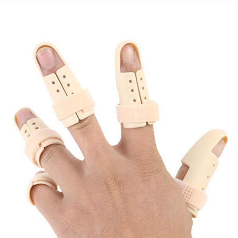 5pcs/lot Finger Splint Brace Adjustable Finger Support Protector For Fingers Arthritis Joint Finger Injury Brace Pain Relief