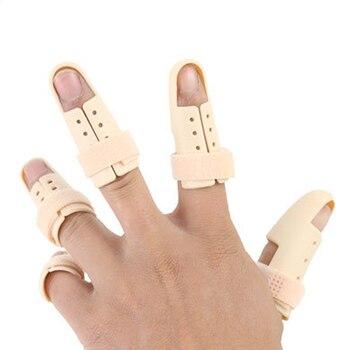 5pcs/lot Finger Splint Brace Adjustable Finger Support Protector for Fingers Arthritis Joint Finger Injury Brace Pain Relief adjustable finger joint splint orthodontics fixer finger joint physical exercise protection fracture support brace 75x30x27cm