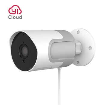 Камера наружного видеонаблюдения YI IoT | Широкое разрешение Full HD 1080P | Погодоустойчивая со степенью защиты IP65 | Функция ночного видения | Двуст...
