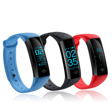 Outdoor Wireless Waterproof Smart Wristband Blood Presure Health Sports Heart Rate Monitor Step Counter Fitness Tracker Watch(China)