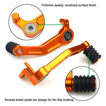 Pair for KTM Duke 390 2013 2014 2015 2016 125 200 Motorcycle CNC Aluminum Foot Brake Lever Gear Shifting Lever Pedal Accessories