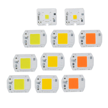 AC 220V Integrated Spotlight Board Light Panel LED Plate Full Spectrum Warm White Cold White 10W 20W 30W 50W