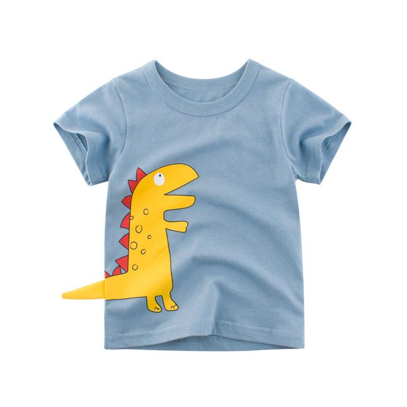 Children's Clothing Boy T-shirt Handsome Baby Clothes Children Short Sleeves CHD20022
