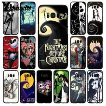 Yinuoda Martinetti Skellington The Nightmare Natale luna Cassa Del Telefono per Samsung Galaxy S10 Più S10E S6 S7 S8 S9 S9Plus s10lite(China)