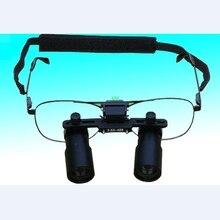 Keplerianスタイル双眼鏡歯科ルーペ3X 4X 5X 6X 7X医療外科entルーペ顕微鏡3.5X 4.5X 5.5Xメガネ拡大鏡
