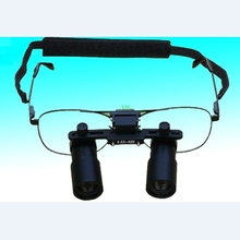 Keplerianas estilo Binocular Dental lupa 3X 4X 5X 6X 7X lupas médicas quirúrgicas ENT microscopio 3.5X 4.5X 5.5X gafas lupa