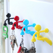 Creative Magnet Key Organizer Adsorption Wall Villain Hanging Strong Magnetic Door Storage
