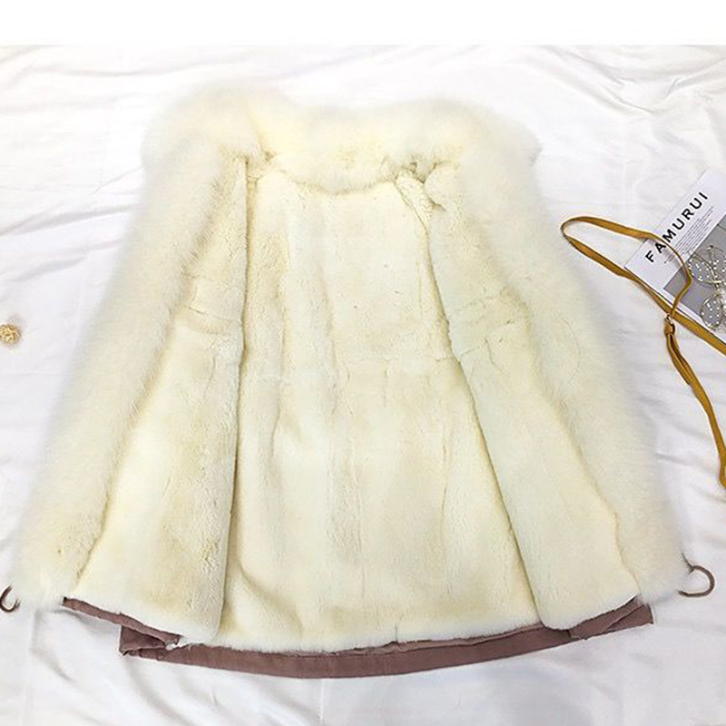 Faux Fox Fur coat