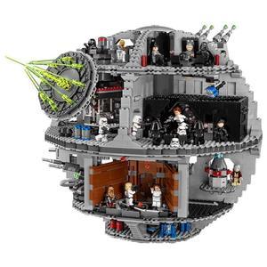 В наличии 05035 05063 Звездные серии войны UCS Death Star развивающие строительные блоки кирпичи игрушки Lepining 10143 10188 75159