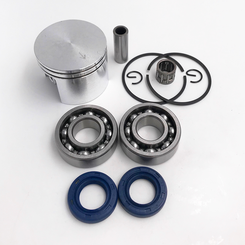 HUNDURE 42.5mm Piston Oil Seal Needle Bearing Crankshaft Crank Bearing Kit For STIHL 025 MS250 MS 250 Chainsaw Spare Parts