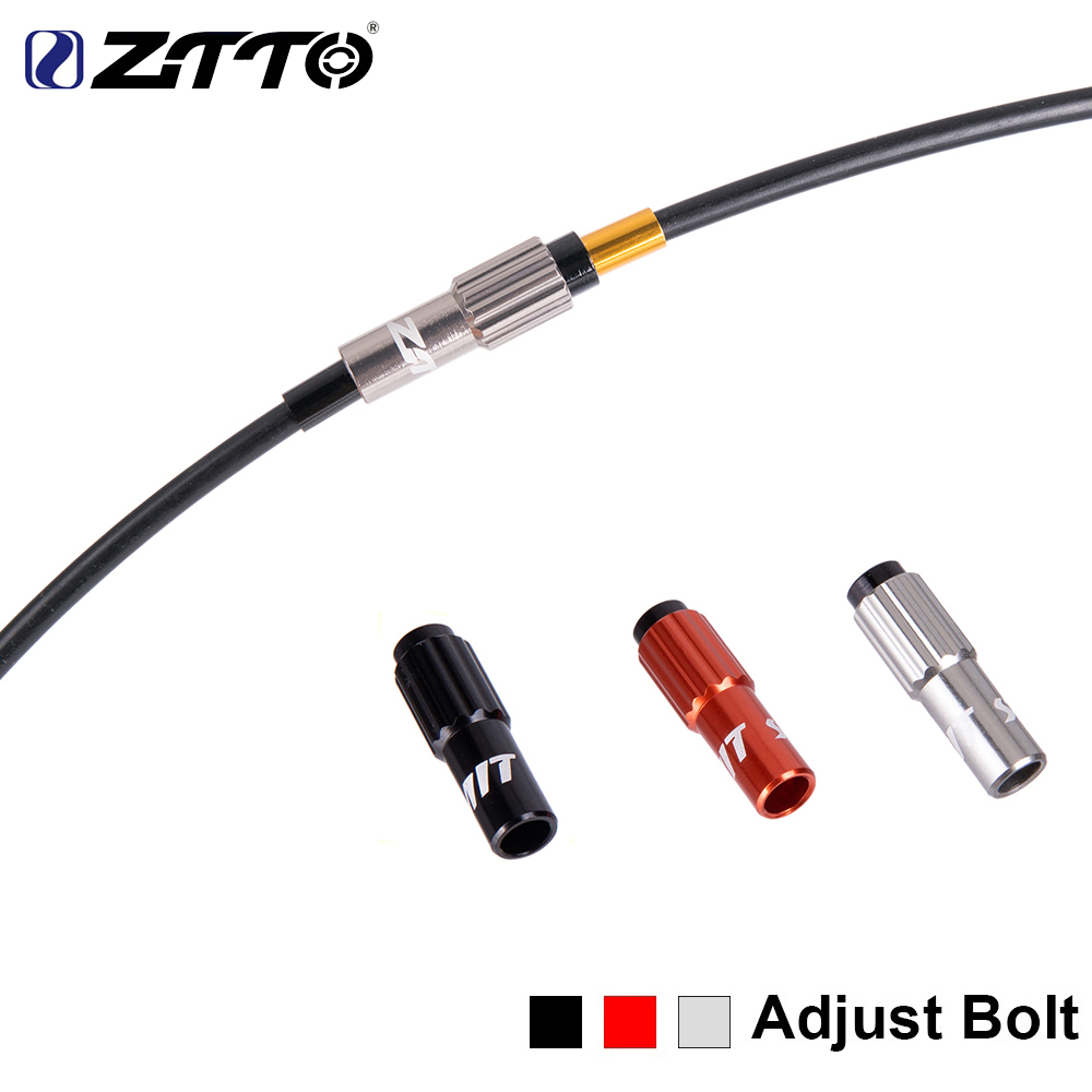 ZTTO MTB Bike Cable Gear Shift Connector Road BikeShifter Cable Line Parts Regulator Adjust Housing Caps Micro Adjustable Screws