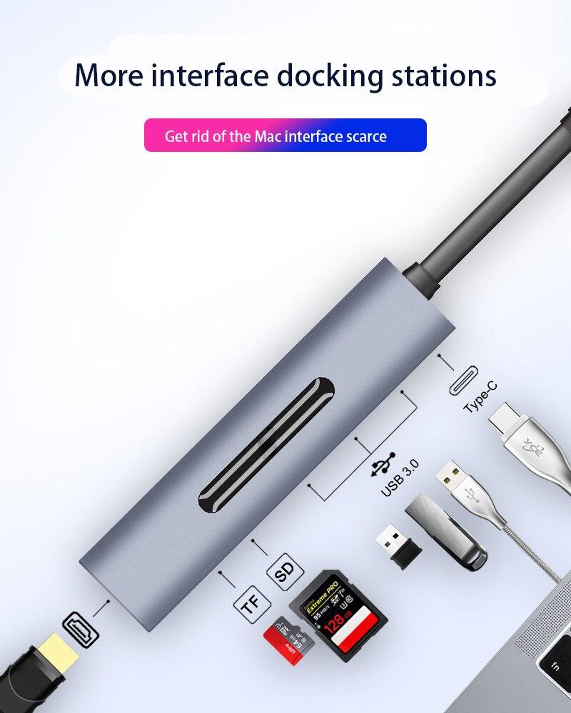 para notebooks telefones portátil docking station hub