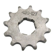 Vélo de saleté 20mm moteur | 428 12T compteur pignon avant ATV Quad Dirt Bike(China)