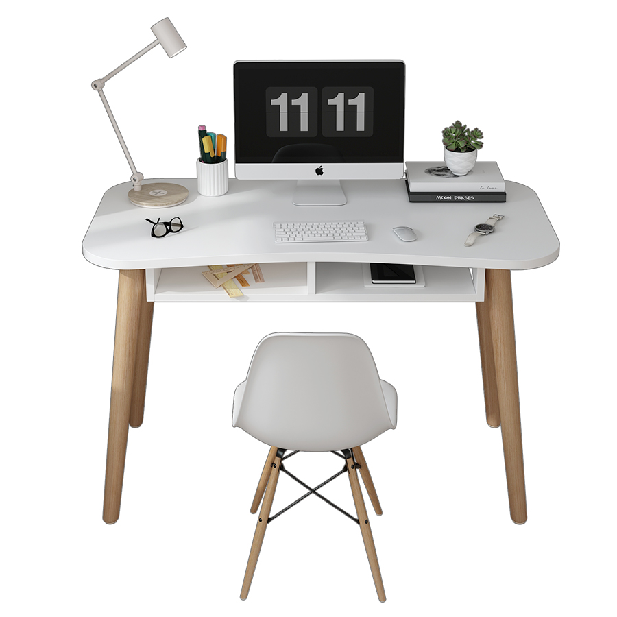Ins Nordic Simple Home Computer Desk Desk Student Desk Office Modern Bedroom Small Apartment Table White Desk