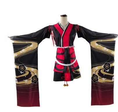 Anime Azur Lane Yamashiro Fen Cosplay Costume Cosplay fête jeu de rôle uniforme Anime robe Halloween fête tenue