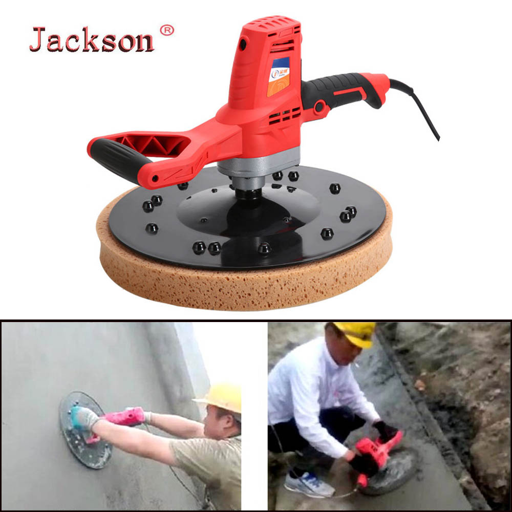 220V Electric Concrete Epoxy Cement Mortar Trowel Masons Plastering Bucket Trowel Tool Wall Smoothing Polishing handtool