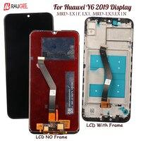 Display Für Huawei Y6 2019 Lcd Display Touch Screen Ersatz Für Huawei Y6 Prime 2019 Display MRD LX1F/N  LX1 LX3 Getestet Lcd-in Handy-LCDs aus Handys & Telekommunikation bei