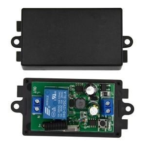 Image 3 - 433 Mhzรีโมทคอนโทรลไร้สายAC 110V 220V 2 ชิ้น 1 ช่องรีเลย์ตัวรับสัญญาณรีเลย์และ 1 ชิ้นRF 433 Mhz Rem