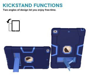 Image 5 - Nuevo para iPad 10,2 7th Gen 2019 funda, resistente a prueba de golpes resistente híbrido armadura de tres capas Defender niños a prueba de niños cubierta